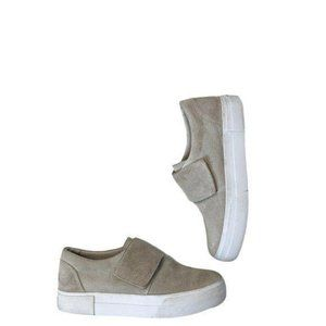 Vince Cage Suede Sport Slip-on Sneakers Size 7
